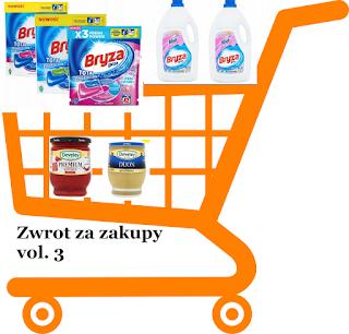 zwrot za zakupy
