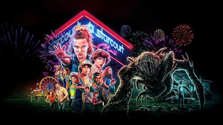Stranger Things Season 3 Characters Poster 4k Wallpaper 1