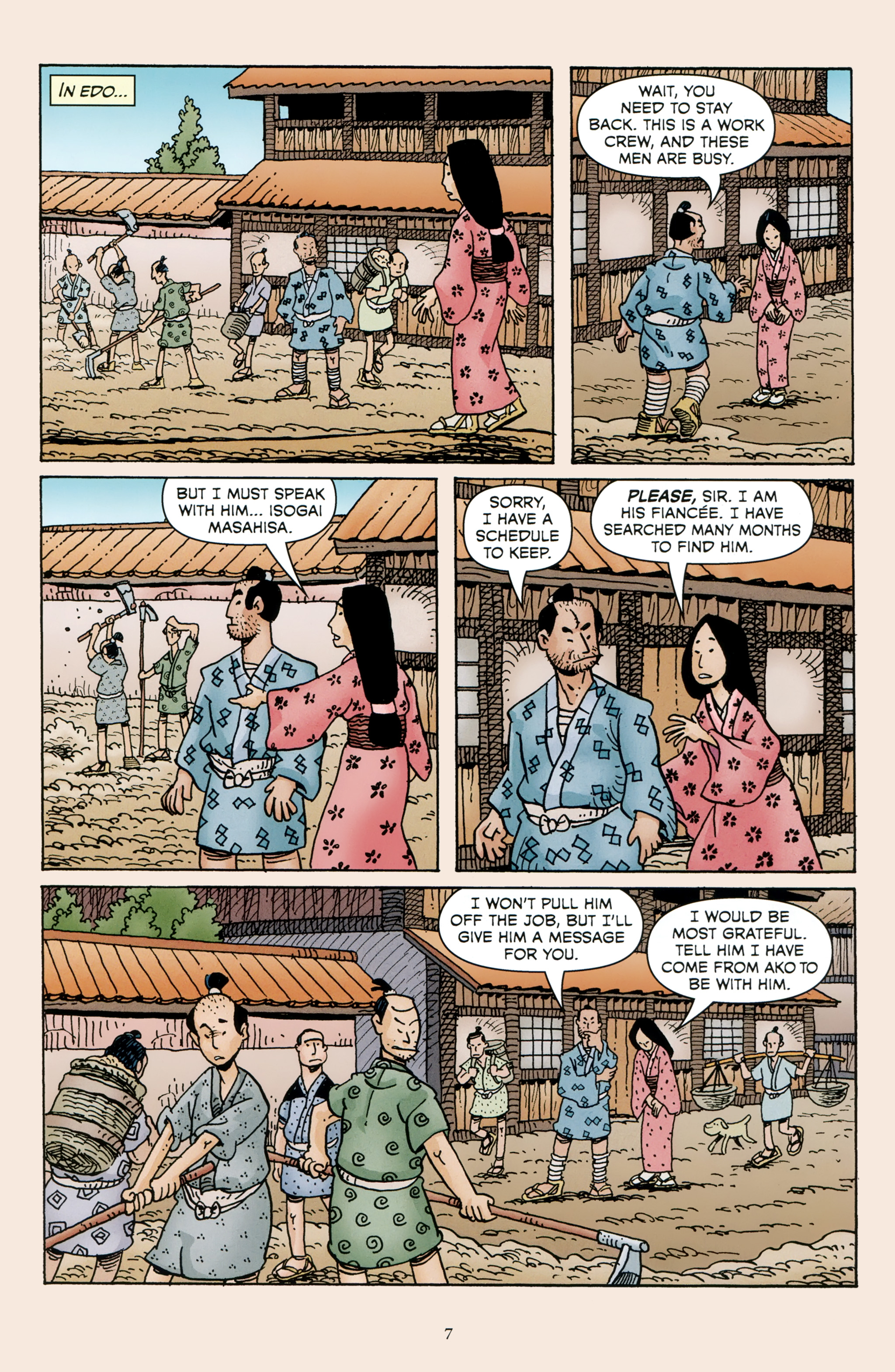 Read online 47 Ronin comic -  Issue #4 - 9