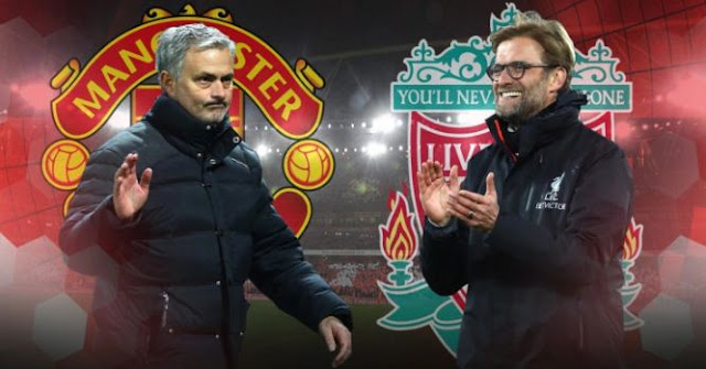 Prediksi Manchester United vs Liverpool - Liga Inggris Sabtu 10 Maret 2018