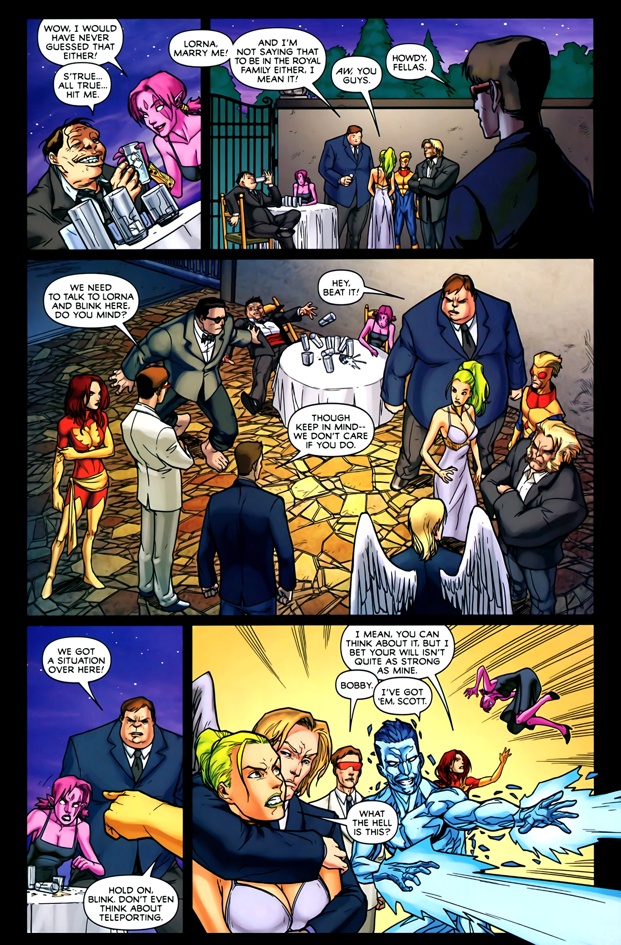 Read online Exiles (2009) comic -  Issue #2 - 22