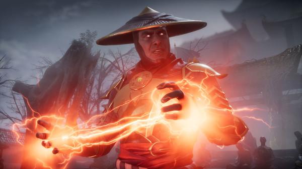 Raiden en Mortal Kombat 11