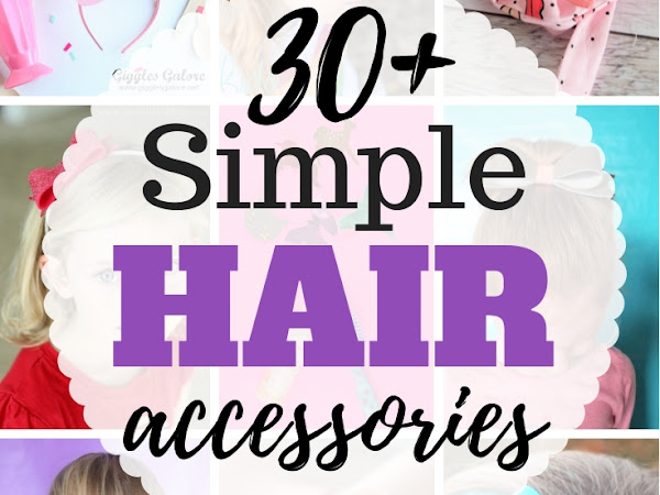 30+ DIY Hair Accessories