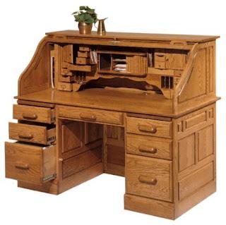 Antique Roll P Desks For Sale