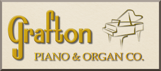 Logo and link for Grafton Piano & Organ Company