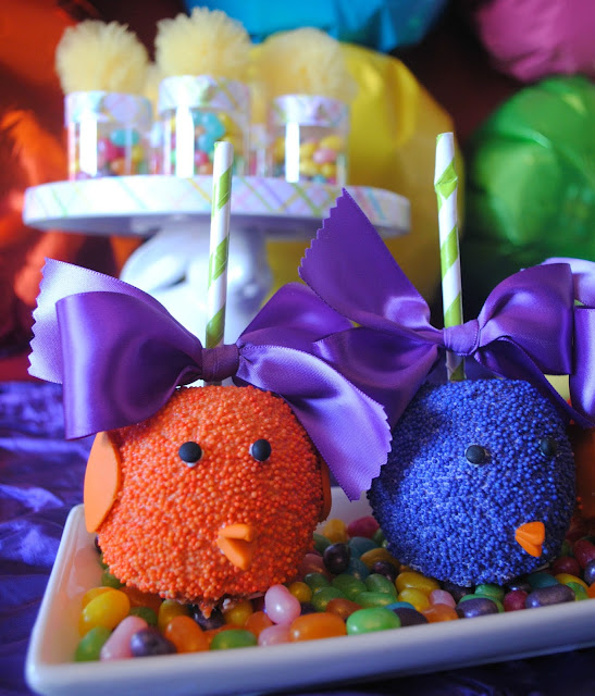 Bright Easter party by Fizzy Party featuring Roni Sugar Creations apples