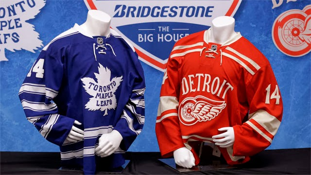 new concept 6bce1 5443b The Jersey Closet: Winter Classic Jersey Review