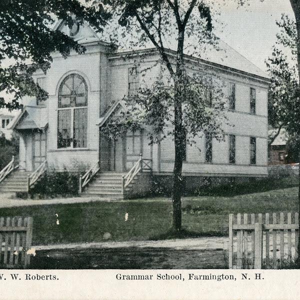 #FarmingtonNH Historic Building Spotlight -Glen Street School
