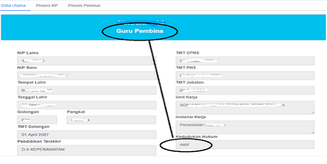 Penting!! Cek Data PNS di BKN dan INFO GTK Apakah Sama? untuk Kelancaran Tunjangan