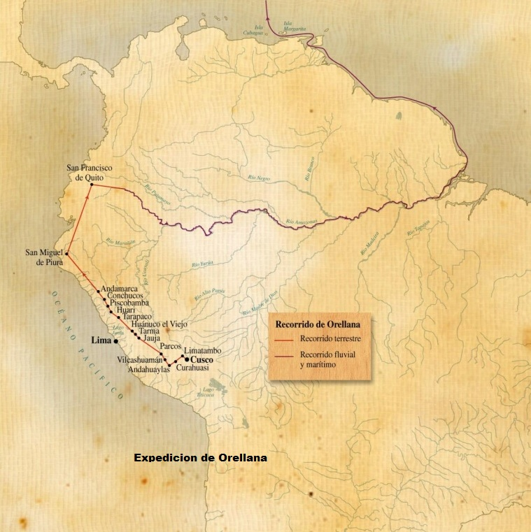 Ruta De Francisco De Orellana