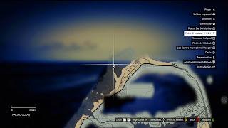posisi Harta Karun di GTA 5