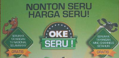 Paket Promo Okeseru Nonton Hemat Paling Seru