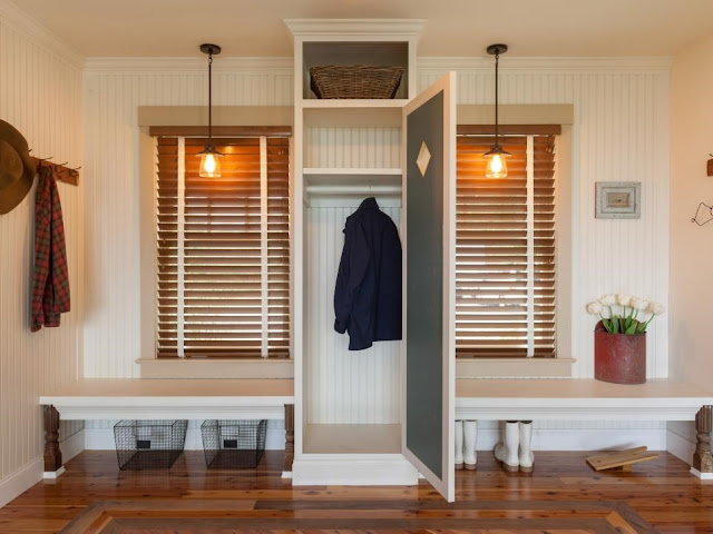 Put a Stop to Chaos by Redesigning Your Mud Room - Home Design my