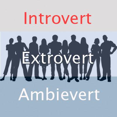 Apa itu Introvert, Extrovert dan Ambievert ?