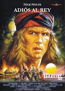 Adiós al rey (1988) Aventuras con Nick Nolte