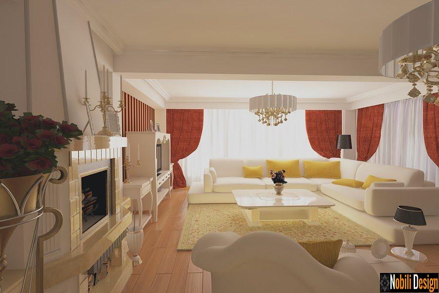 Design interior living clasic casa Constanta-Design Interior-Amenajari Interioare-Case clasice