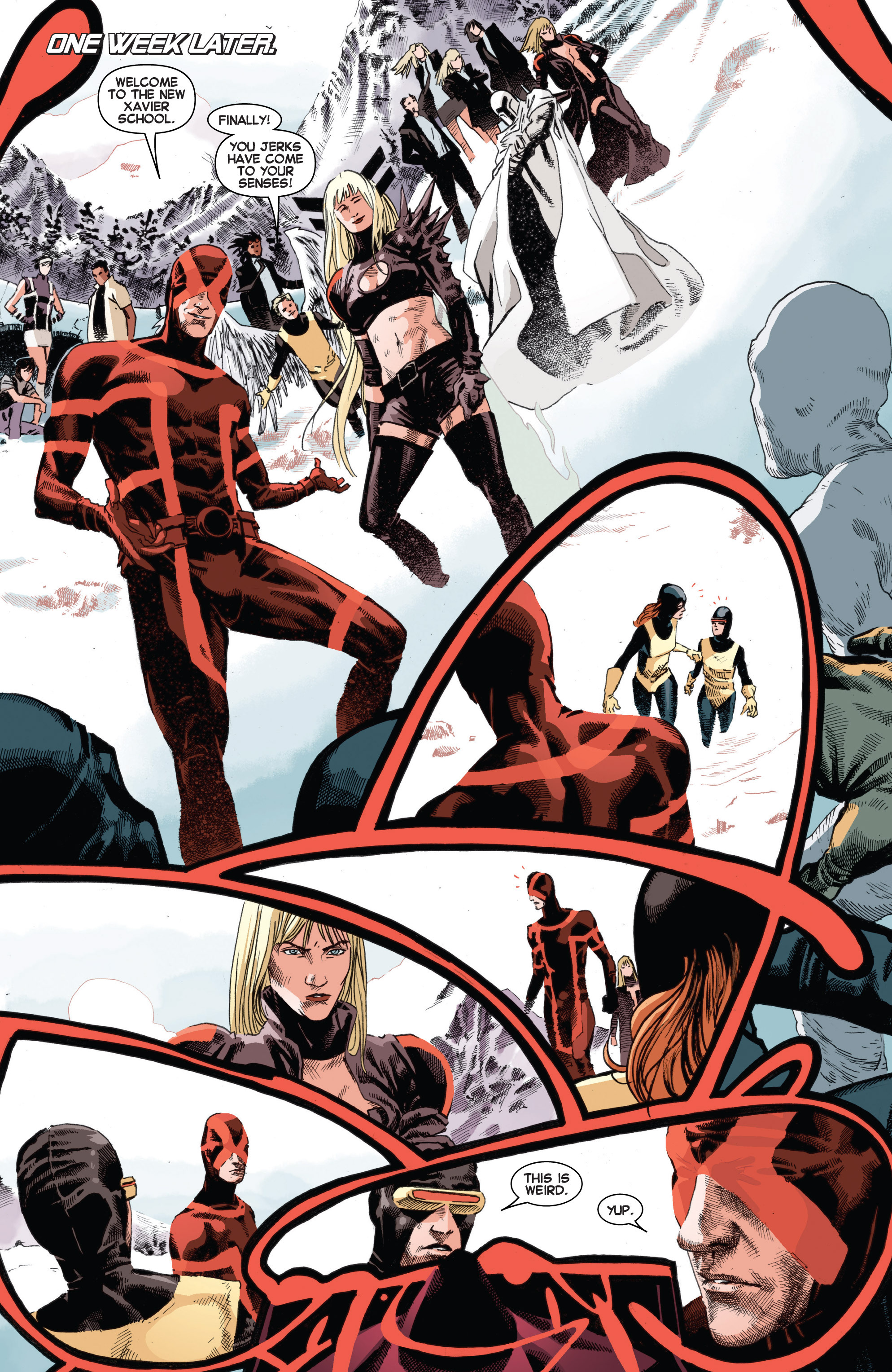 Read online Uncanny X-Men (2013) comic -  Issue # _TPB 3 - The Good, The Bad, The Inhuman - 97