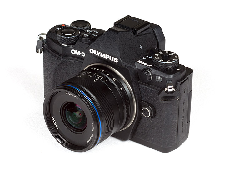 Laowa 7.5mm f/2 на камере Olympus OM-D E-M5 Mark II