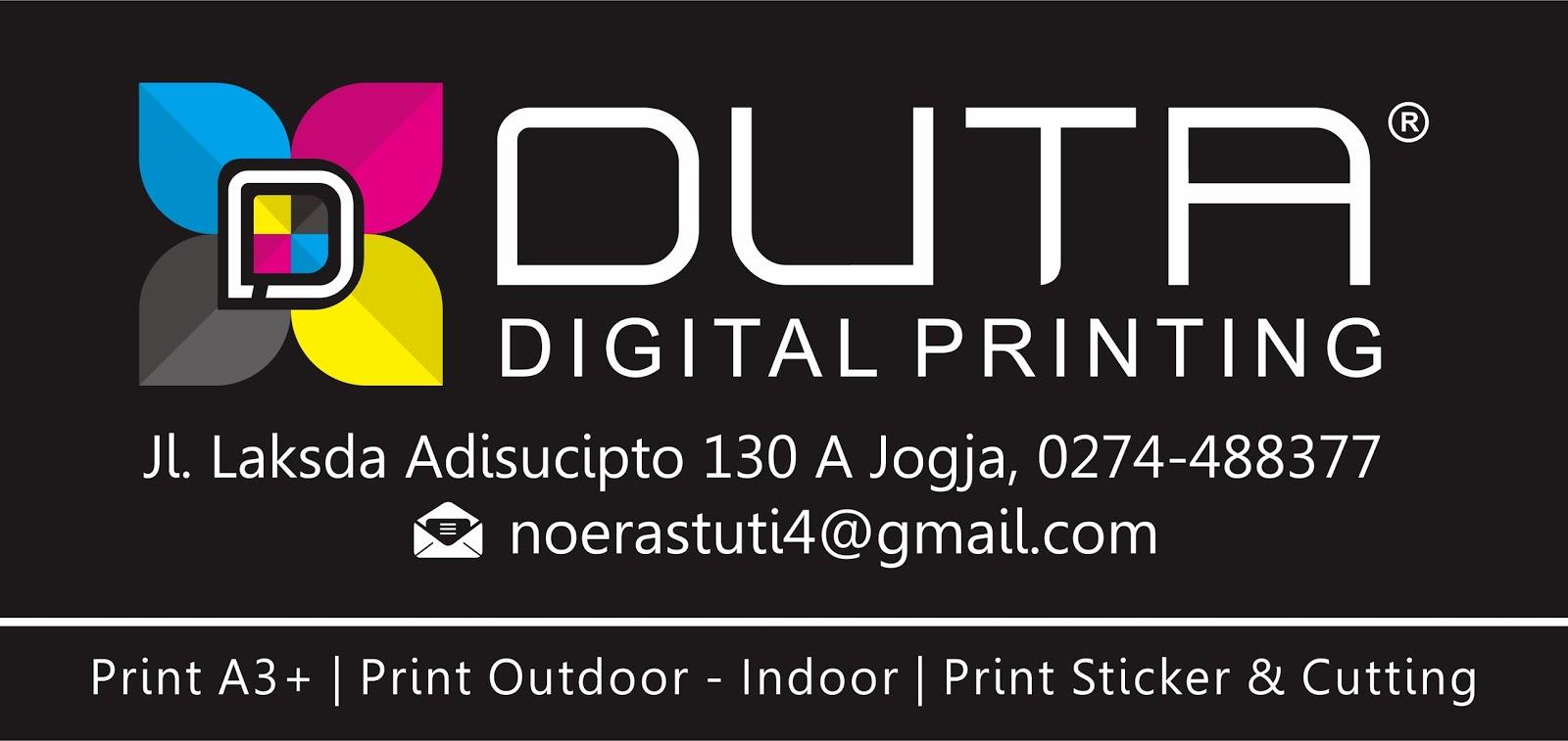 Lowongan Kerja Duta Digital Printing Yogyakarta - Ayo Kerja