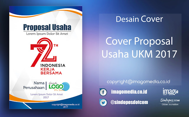 Download Template Desain Cover Proposal Usaha UKM 2017