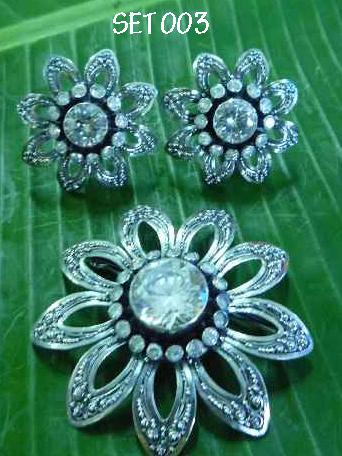 Puri Bali Silver: 1 set perhiasan perak bakar