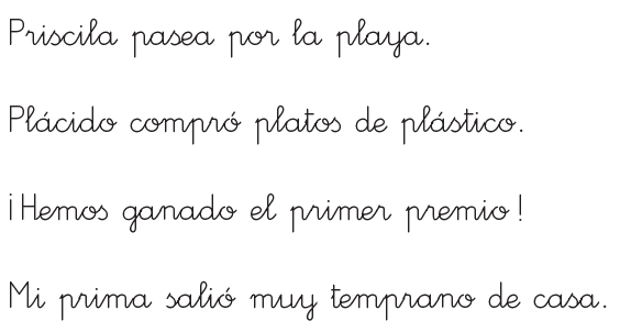 La Mochila Paulina Tema 6 De Lengua Palabras Con Pr Pl