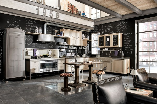 home couture ! - Industrial Look Kitchen Image
