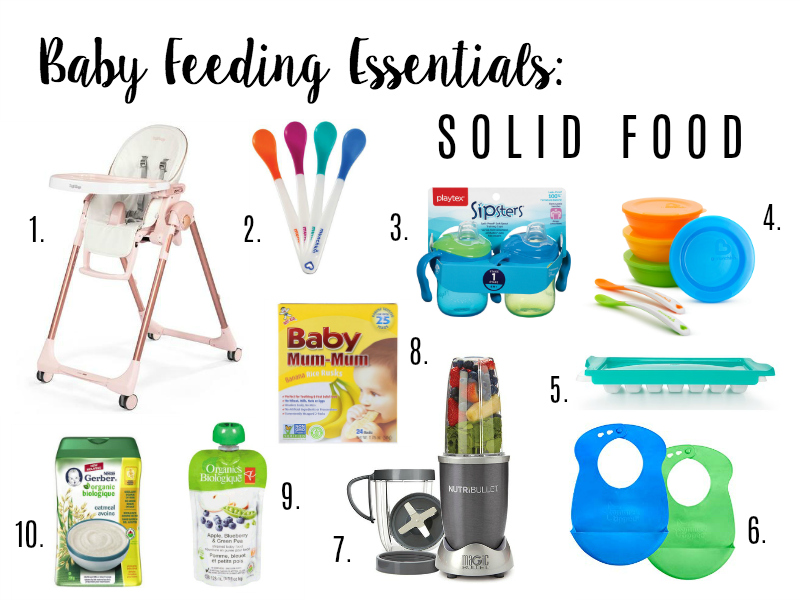 Baby Feeding Essentials: Solid Food