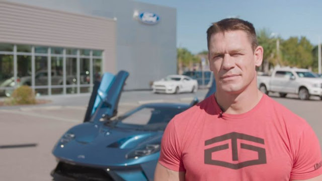 Ford demanda a John Cena por vender su super GT 2017