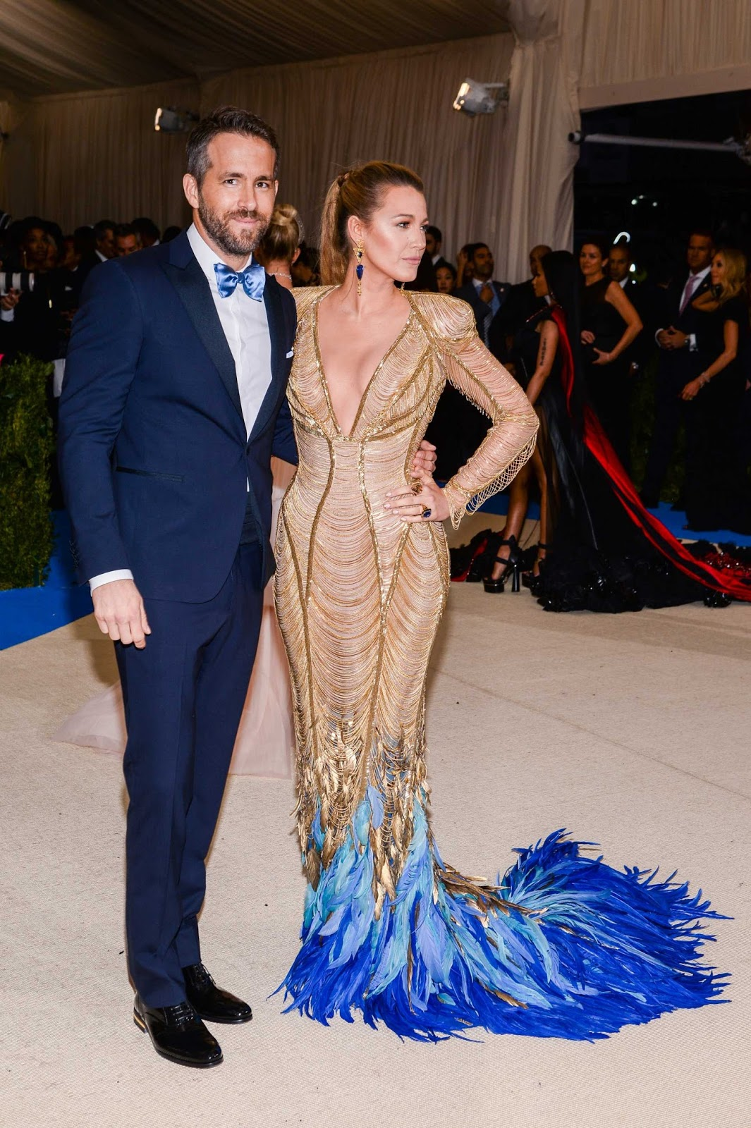 Blake Lively – 2017 MET Costume Institute Gala at The Metropolitan Museum of Art in NYC