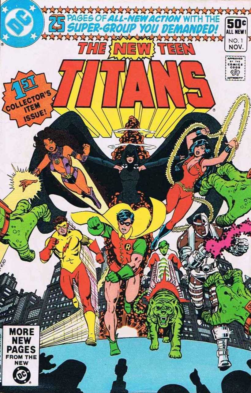 Chris Is On Infinite Earths New Teen Titans 1 1980-9050