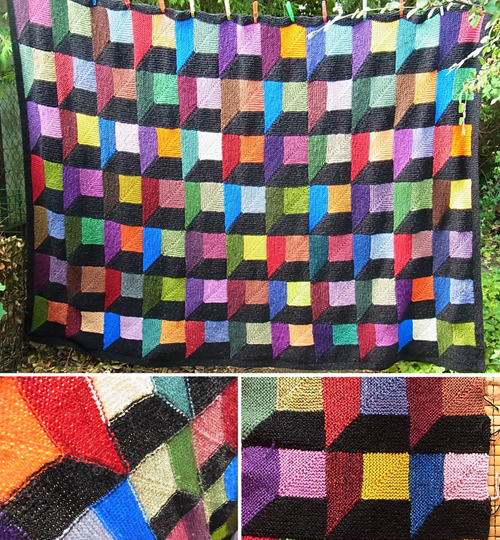 3D Blanket - Knit Pattern