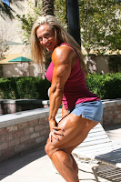 Female bodybuilding demonstrates