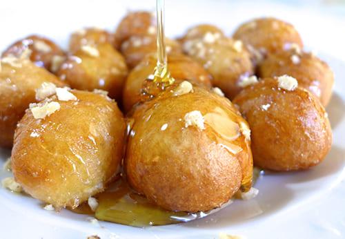 Loukoumades (Greek Donuts) recipe