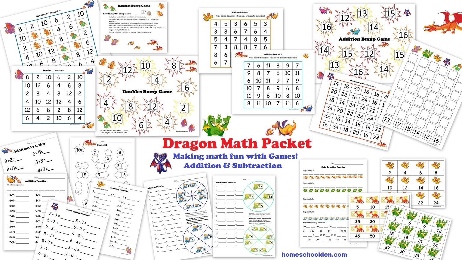 Soft Schools Math Worksheets