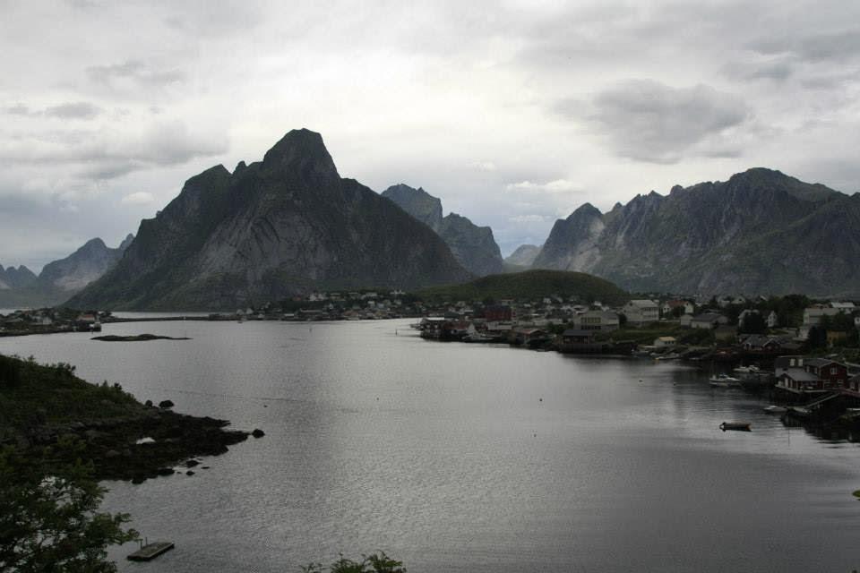 Panorámica de Reine, Islas Lofoten.