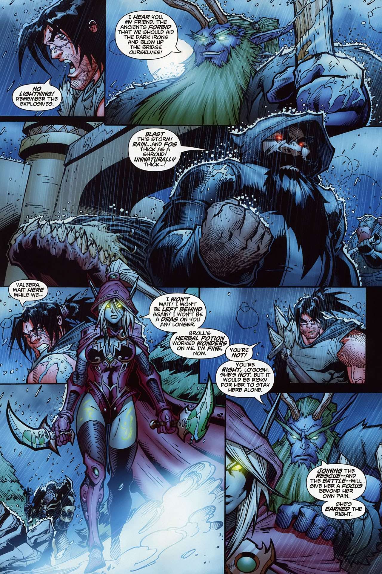 Read online World of Warcraft comic -  Issue #10 - 11