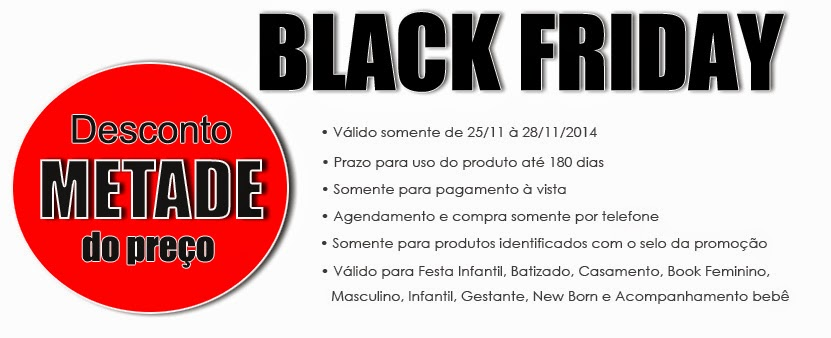 black friday estudio fotografico