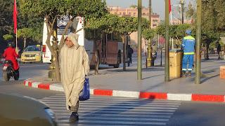 A pyjama in Morocco