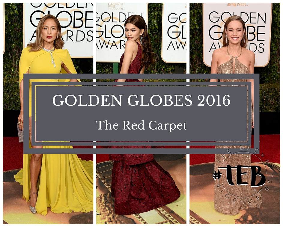 GOLDEN GLOBES 2016: The Red Carpet