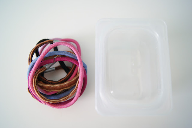 Nest Full Of Eggs Girls Hair Rubber Band Color Coded Storage
