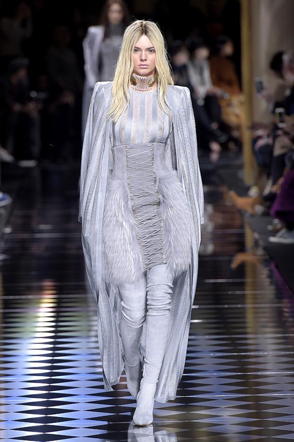 Balmain Army goes sexy for the Paris Fashion Week Show