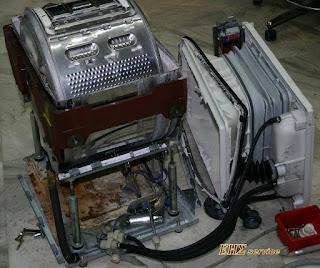 επισκευή κάδου πλυντηρίου άνω φόρτωσης