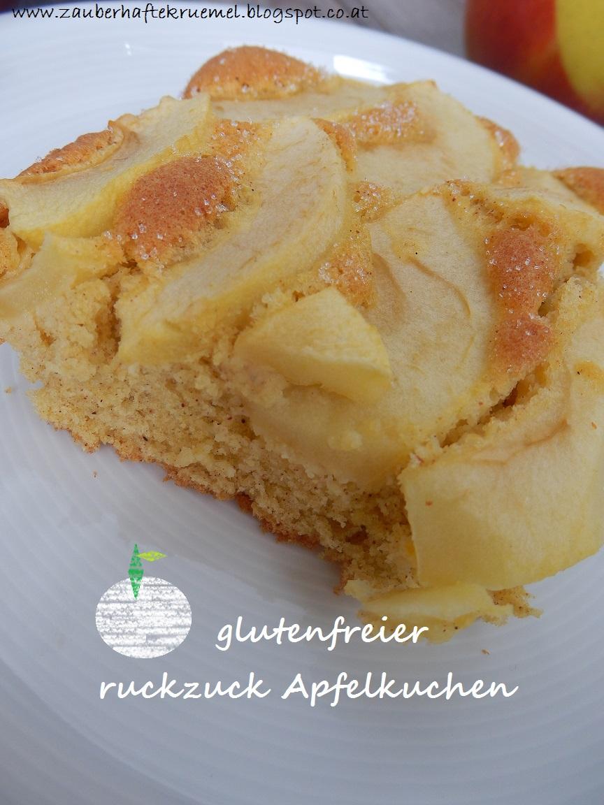 Zauberhafte Krumel Rezepte Glutenfreier Ruckzuck Apfelkuchen