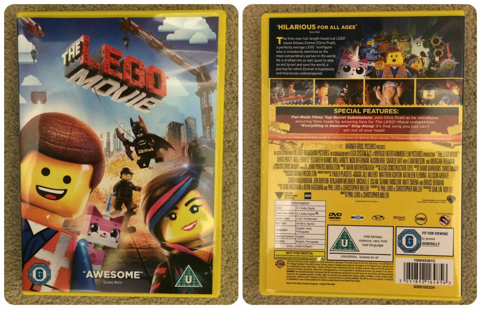 Celestial Mum Everything Is Awesome A Review Of The Lego Movie