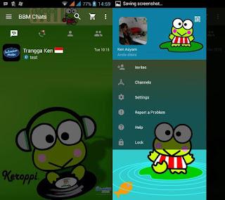 BBM Mod Keroppi