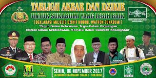 received 10215063537644096 - Ulama Sukabumi Gelar Dzikir dan Deklarasi MD Hubbul Wathon