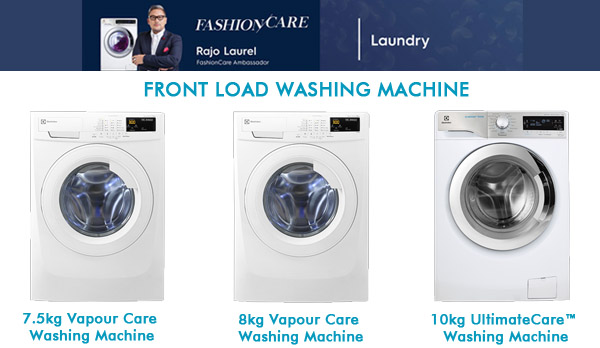 Electrolux Fashion Care washing machines