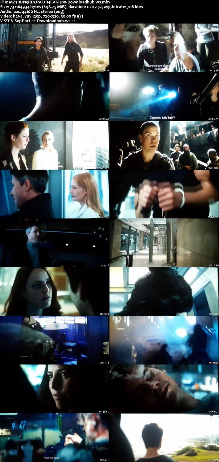 Maze Runner The Death Cure 2018 English 700MB HDCAM x264