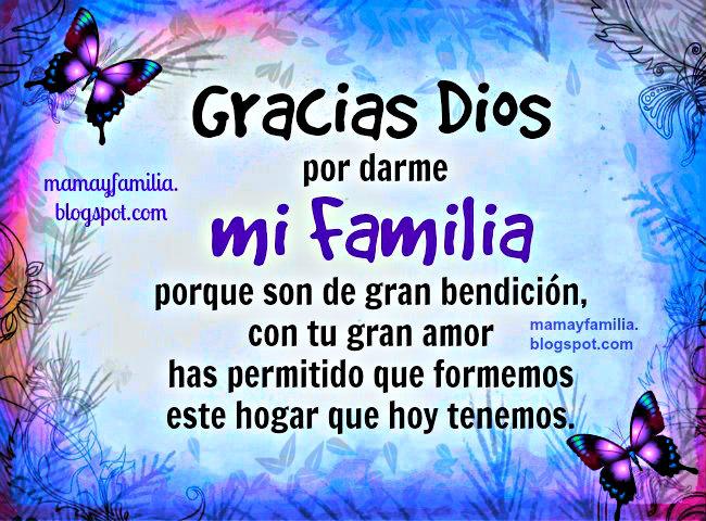 Frases De Agradecimiento A La Familia